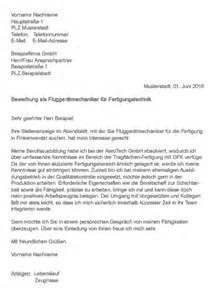 Initiativbewerbung Anschreiben Dachdecker Muster Gt Bewerbung Als Flugger 228 Tmechaniker Fertigungstechnik