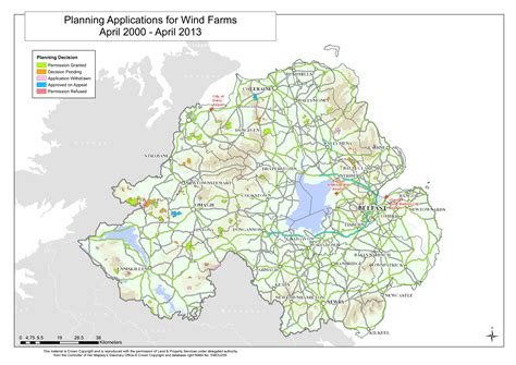 wind farms in map renewables in northern ireland starch