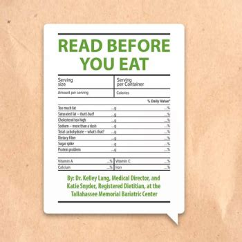 read it before you eat it taking you from label to table books the power of commitment