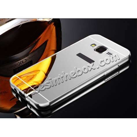 Metal Bumper Mirror Slide Back Cover Casing Samsung Galaxy Note 4 fashion aluminum bumper with mirror acrylic backplane for samsung galaxy j5 silver us 12