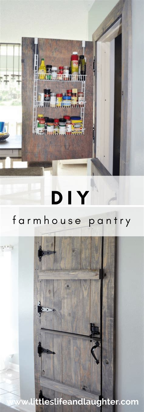 pantry do or diy diy farmhouse pantry door littles life laughter