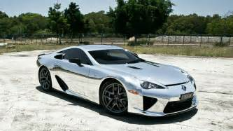 silver car lexus lfa wallpapers and images wallpapers