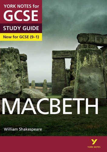 macbeth york notes for gcse 9 1 book ebay