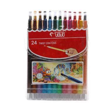 Crayon Titi Putar Isi 12 Twist Crayon jual titi crayon ti cp 24t crayon putar