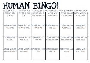 printable pdf human bingo game ice breaker activity