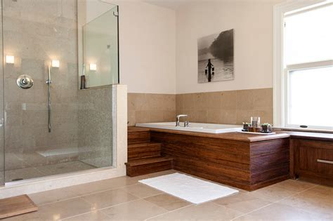 Modern Spa Bathroom by Modern Spa Like Bathroom