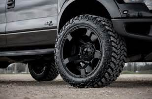 Tires And Rims This Ford Svt Raptor With Road Xd Wheels And Tires Is
