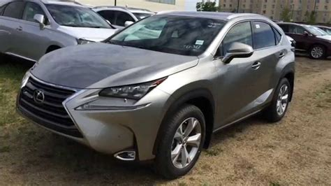 lexus atomic silver nx new atomic silver 2015 lexus nx 200t awd executive package