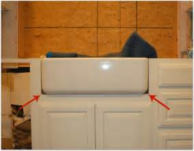 How To Install A Farmhouse Kitchen Sink Farm Sink Just Spiff It