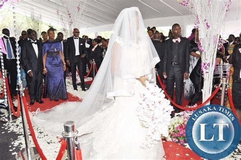 president sata and first lady at bona mugabes wedding in zambia pictures sata at wedding ceremony of robert