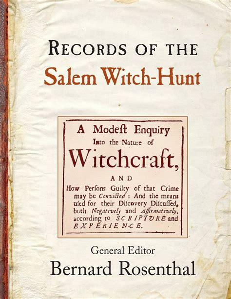 Salem Witch Trials Records Salem Witch Trials Facts On Salem Witch Trails Salem Witch Trials And