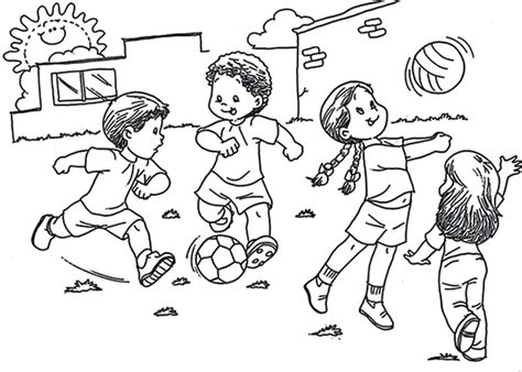Imagenes De Niños Jugando Sin Colorear | comunicaci 243 n educativa 3o a ciencias sociales ceuja 191 por