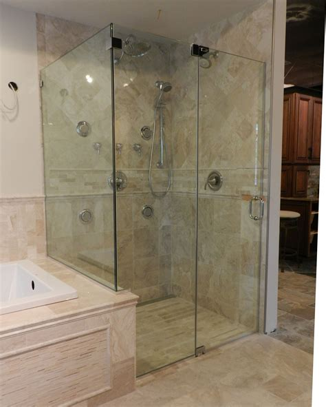 bathroom glass shower shower glass panel for contemporary bathroom styles amaza design