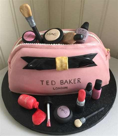 Make Birthday Cake by Make Up Bag Ted Baker Cake My Cakes