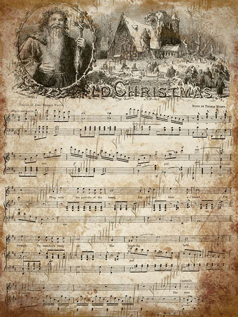 free printable vintage christmas sheet music 1000 images about vintage printable sheet music on pinterest