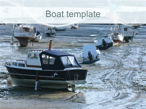 powerpoint templates yacht club boat template