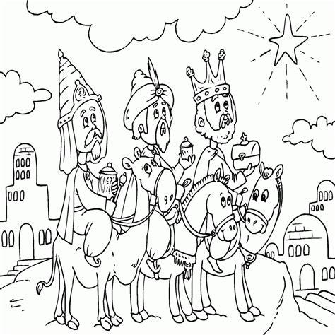 imagenes reyes magos para dibujos de los 3 reyes magos para colorear