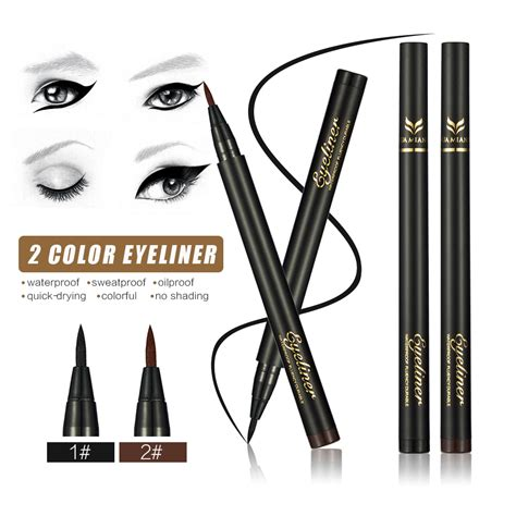 Eyeliner Make Pencil aliexpress buy 2016 brand makeup black brown eyeliner pencil waterproof make up eyeliner