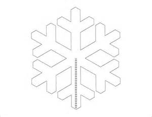 simple snowflake template snowflake templates 49 free word pdf jpeg png format
