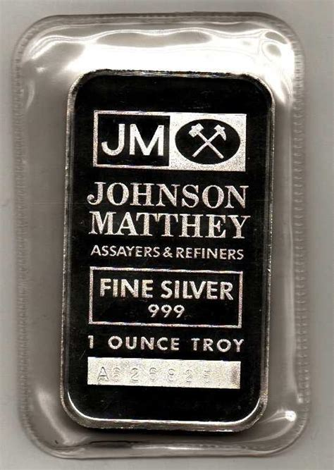 1 Oz Silver Price - johnson matthey 1 oz silver bars
