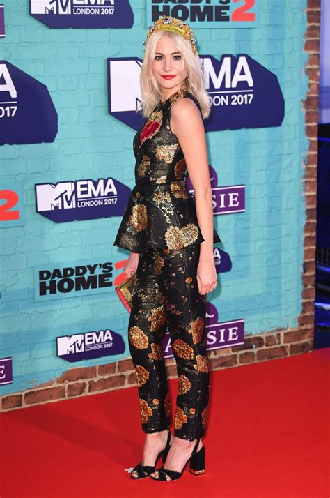 Mtv Europe Awards by Pixie Lott At The 24th Mtv Europe Awards In