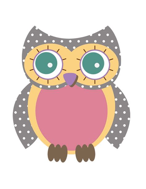 printable images of owl owl print cake ideas and designs