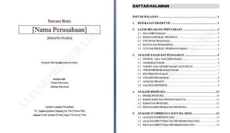 membuat makalah business plan contoh proposal usaha dan business plan