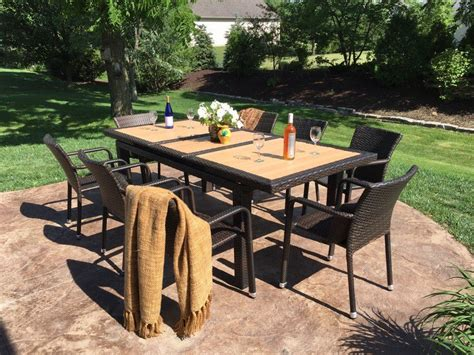 Garden Dining Set Sale Outdoor Indoor Extendable Dining Set On Sale At Gooddegg