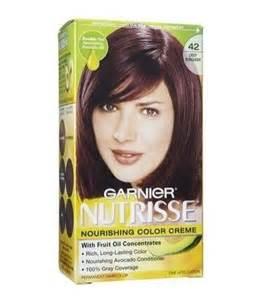 garnier nutrisse burgundy br2 review garnier nutrisse permanent creme haircolor no 42 deep