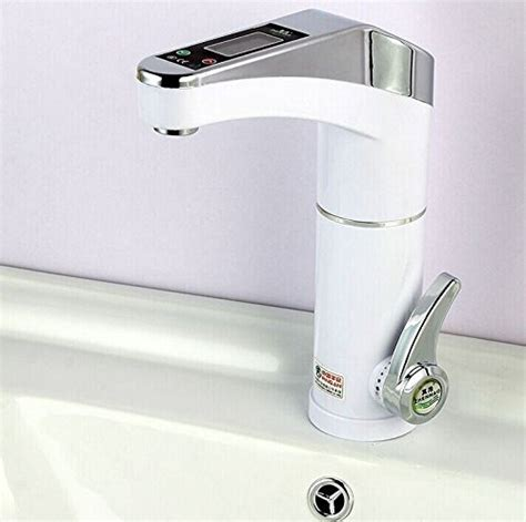 Intelligent Plumbing by Intelligent Lcd Electric Heater Kitchen Faucet Instant