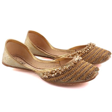 slippers for india unze videha indian khussa slippers uk size 3 8 gold
