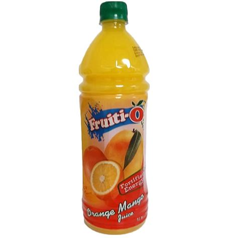 fruiti o mango juice vernon sales your one stop supplier of food items