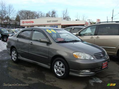 2004 Toyota Corolla S 2004 Toyota Corolla S In Moonshadow Gray Metallic 297584