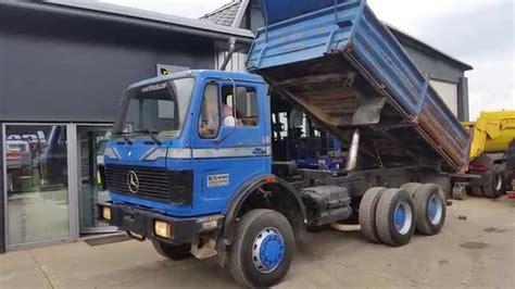 mercedes truck 6x6 truck mercedes 2626 6x6 fiš trucks slovenia