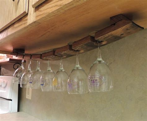 cabinet glass rack cabinet hanging glass rack diy counter wine
