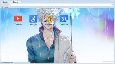 theme google chrome gintama gintama chrome themes themebeta