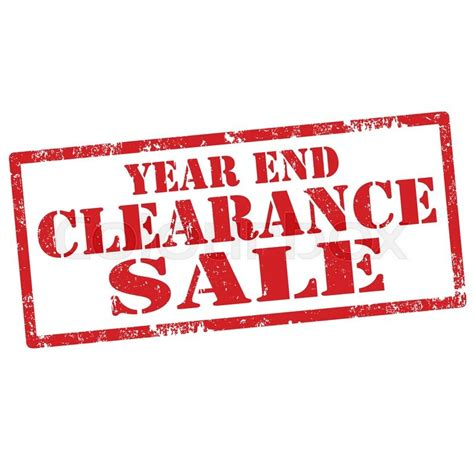 erafone year end sale grunge rubber st with text year end clearance sale