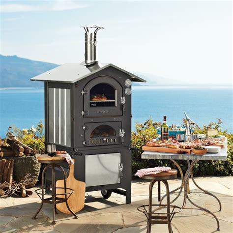 table pizza fontana fontana gusto wood fired outdoor ovens williams sonoma