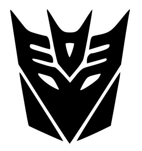 Transformer Wall Stickers transformers decepticon logo google search silhouette