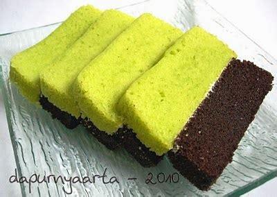 Cara Membuat Brownies Kukus Ketan Hitam Pondan | aneka resep cake pandan cokelat