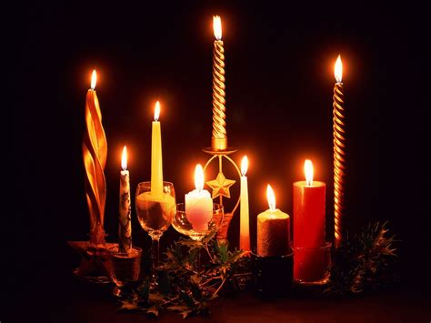 christmas candles christmas wallpaper 16092105 fanpop