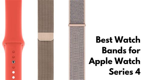 the best apple series 4 bands