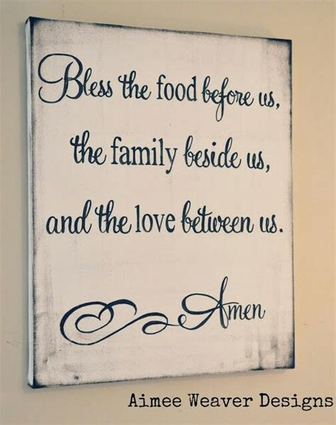 Kitchen And Dining Room Quotes Dinner Prayer Quotes