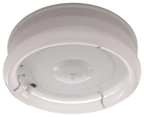 Circline Light Fixtures 12 Quot 1 Light Fluorescent Circline Fixture White Transitional Compact Fluorescent Bulbs By
