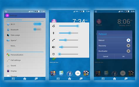 add themes to facebook install custom xperia facebook theme and ios7 theme