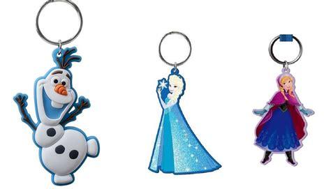 Ke 077 Keychain Elsa Frozen 3 pack disney frozen olaf elsa soft pvc key