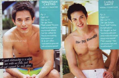 a wake up call from paulo avelino young star cosmopolitan bachelor bash 2011 will fire up the r