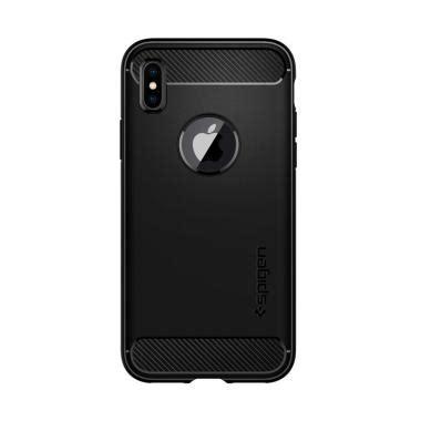 Cool Black Iphone Casesemua Hp jual spigen iphone x rugged armor black harga kualitas terjamin blibli