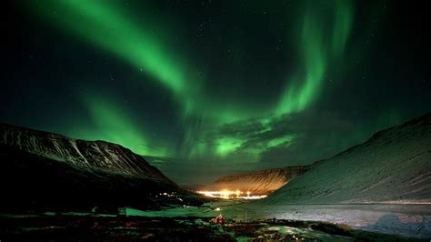 Nature In Lights by Canada Nature Northern Lights Wallpaper