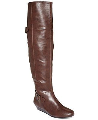 style co hooray wedge boots shoes macy s boots i